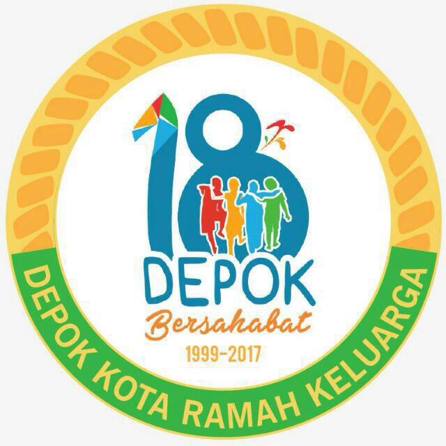Logo Hut Depok Ke 18 Tampilkan Simbol Ramah Keluarga Depok Tren